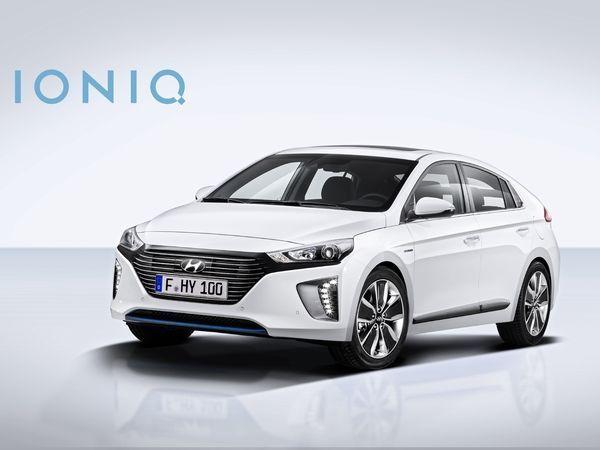 Fiche auto Hyundai Ioniq hybride rechargeable